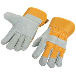 Rękawice robocze skórzane...
